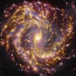Fuochi d'artificio galattici