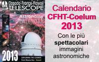 Calendario Astronomico CFHT Coelum 2013