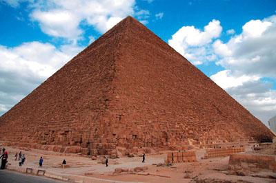 La Piramide di Cheope e la