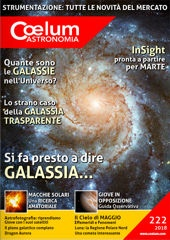 Coelum n.222 - 2018 - Clicca per leggere online
